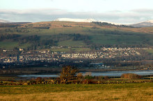 Dingwall, Dingwall from the Black Isle, Ross-shire © John Comloquoy